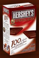 Hershey Special Dark 100 calorie bar