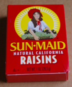 Sun Maid raisins