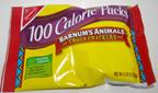 100 calorie animal crackers
