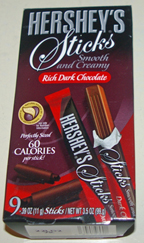 Hershey's Sticks dark chocolate