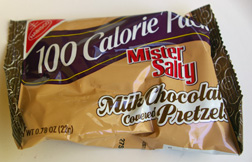 Mister Salty chocolate-covered pretzels